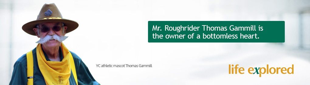 Thomas Gammill - Mr. Roughrider